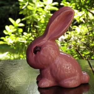 Sylvac Large 1026 Pink Rabbit Round Bunny
