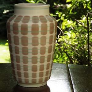 Poole Pottery 1950s Freeform Range Tall Vase