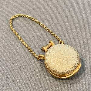 Victorian Tiny Chatelaine Purse with Stanhope