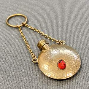 Small Gold Vermeil Plated Perfume Bottle