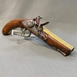 Flintlock Man Stopper Pistol by Wilkinson of Bristol