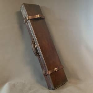 Victorian Leather Gun Case