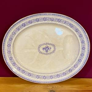 19th Century Bodley and Co Prince of Wales Meat Platter