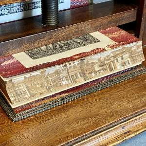 19th Century Fore Edge Painted Book - Italy a Poem