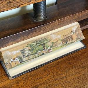 19th Century Fore Edge Painted Book - Hebers Poetical Works
