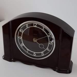 Art Deco Smiths Bakelite Mantel Clock