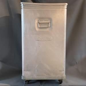 1950s Retro Grundybin Aluminium Storage Container