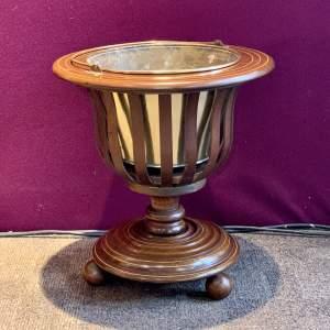 Edwardian Inlaid Mahogany Wine Cooler