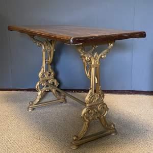 Original 19th Century Tavern Table