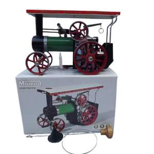 1970s Unused Mamod TE1A Live Steam Model of Traction Engine