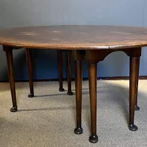 Large Oak Wake Table