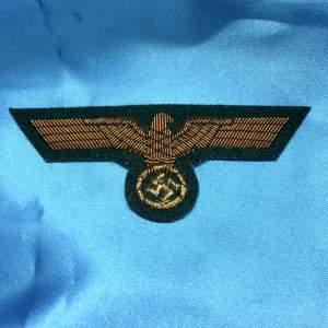A Nazi German WW2 Wehrmacht Generals Eagle Badge