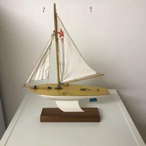 1950s Star Mark 2 Birkenhead Toy Pond Yacht Endeavour 11