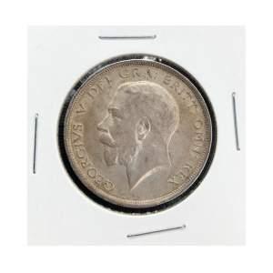 1914 George V Silver Half Crown
