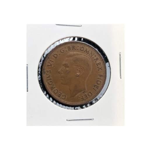 1950 George VI Penny image-1