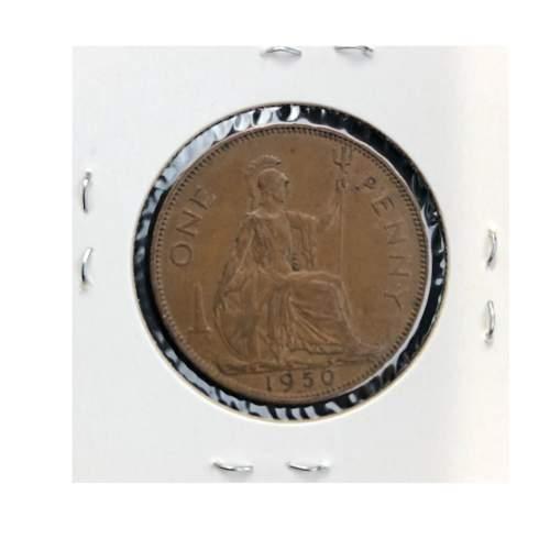 1950 George VI Penny image-2