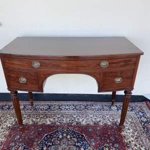 Regency Bowfront Desk