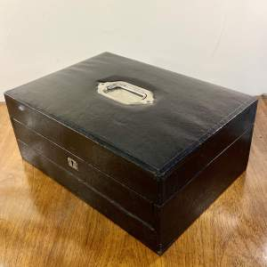 Late Victorian Leather Writing Slope