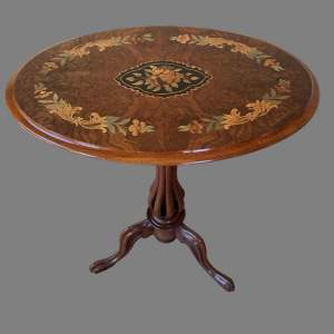 A Victorian Tilt Top Wine Table