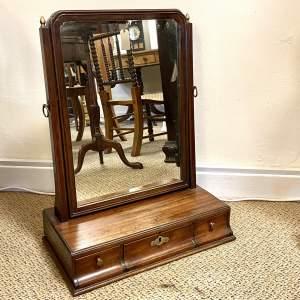 Early 19th Century Regency Swivel Mirror