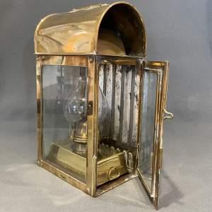 Brass Deck Watch Officers Lantern