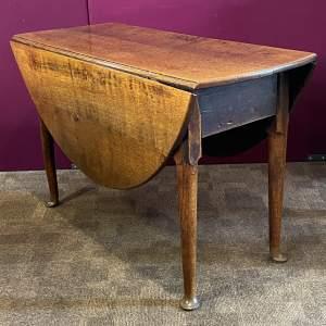 George II Oak Gate Leg Table