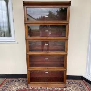 Globe Wernicke Five Section Bookcase