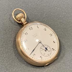Edwardian 9ct Gold Elgin Pocket Watch