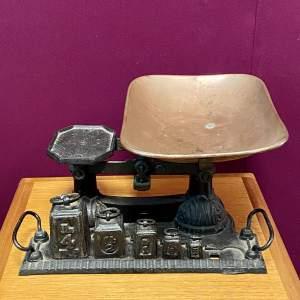 Victorian Cast Iron Scales