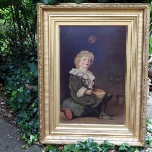John Everett Millais - Bubbles - Pears 20th Century Oleograph Print