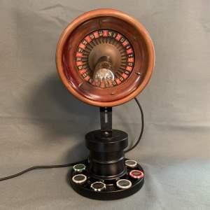 Roulette Wheel Lamp