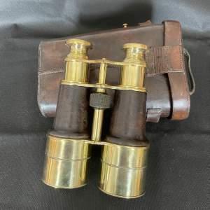 Pair of WW1 Officers Binoculars By W Watsons London