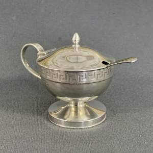Early 20th Century Silver Salt