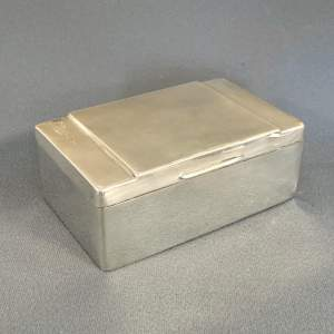 Early 20th Century Silver Box