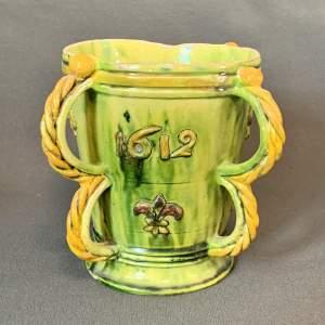 19th Century Castle Hedingham Handled Vase