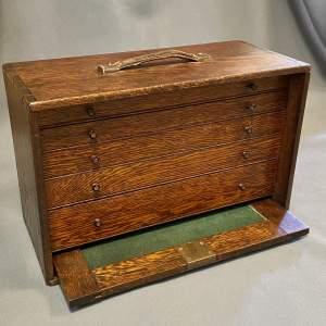 Victorian Engineers Tool Cabinet