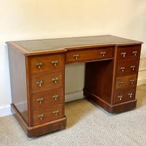 19th Century Mahogany Breakfront Desk