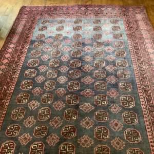 Superb Quality Hand Knotted Afghan Rug Turkoman Design Stunning
