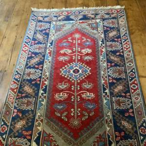 Old Hand Knotted Turkish Rug Dosmealti Wonderful Colours and Design
