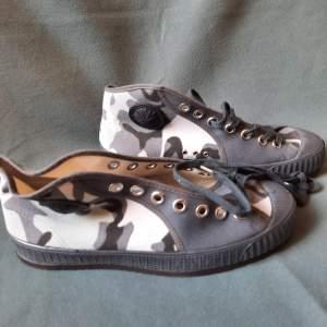 Pair of Belgian Vintage Foempies Rockabilly Sneakers