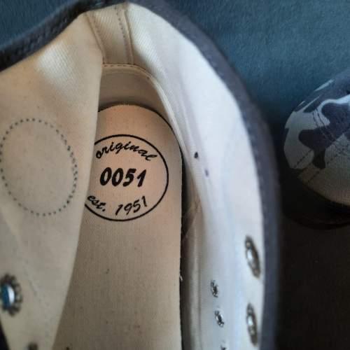 Pair of Belgian Vintage Foempies Rockabilly Sneakers image-3