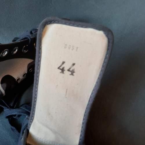 Pair of Belgian Vintage Foempies Rockabilly Sneakers image-6