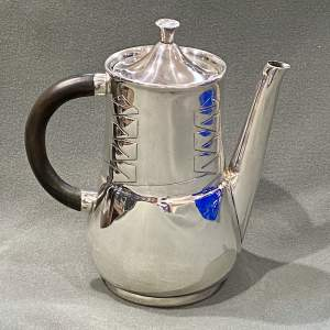 Archibald Knox Liberty and Co Silver Coffee Pot