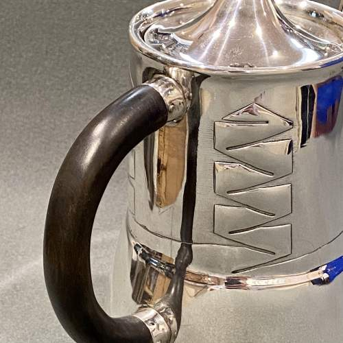 Archibald Knox Liberty and Co Silver Coffee Pot image-3