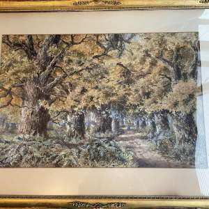 19th Century Painting Sherwood Forest - Spencer Leece 1843-1894