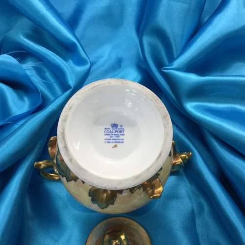 Coalport Bone China Twin Handed Vase image-5