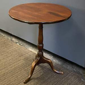 Victorian Tilt Top Occasional Table