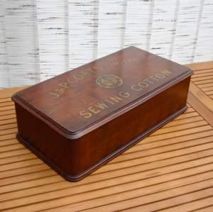 J and P Coates Cotton Display Box