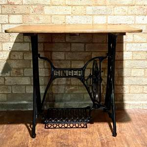 Singer Cast Iron Based Table