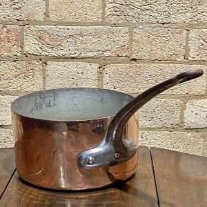 Vintage Copper Sauce Pan